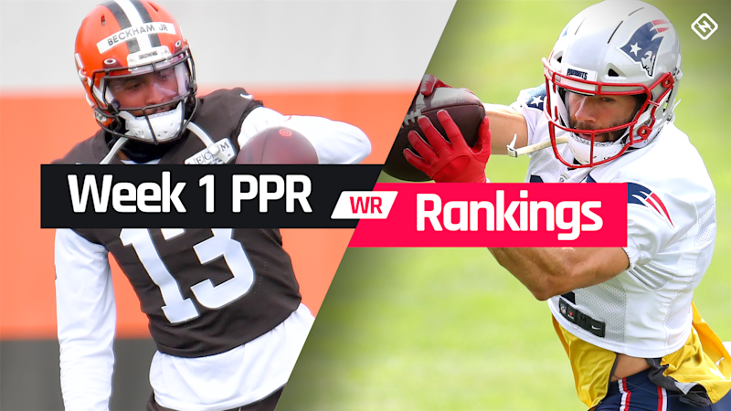 Week 1 Fantasy WR PPR Rankings: Must-starts, sleepers, potential busts
