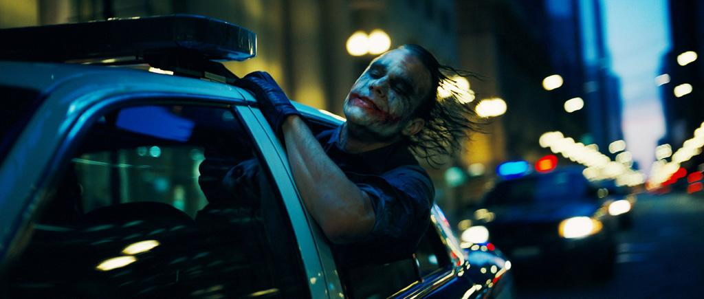 """<a href=""""http://movies.yahoo.com/movie/contributor/1800018553"""">Heath Ledger</a> as the Joker in Warner Bros. Pictures' <a href=""""http://movies.yahoo.com/movie/1809271891/info"""">The Dark Knight</a> - 2008"""