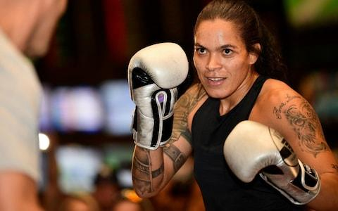 <span>Amanda Nunes is the No 1 ranked female pound-for-pound fighter in the world</span> <span>Credit: Getty Images </span>