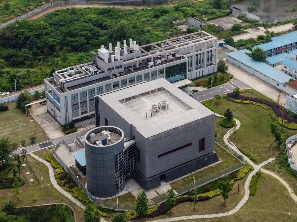 An aerial shot of the Wuhan Institute of Virology (AFP via Getty Images)