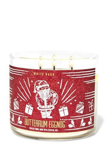 <p><span>Bath &amp; Body Works Butter Rum Eggnog 3-Wick Candle</span> ($15, originally $25)</p>