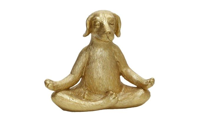 You'll feel calm looking at this statue.