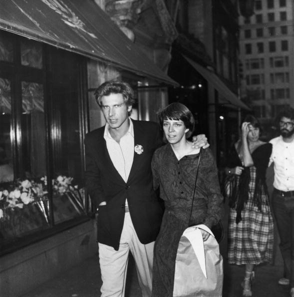 """<p><em>Star Wars </em>actor Harrison Ford has been married <a href=""""https://www.biography.com/actor/harrison-ford"""" rel=""""nofollow noopener"""" target=""""_blank"""" data-ylk=""""slk:three times"""" class=""""link rapid-noclick-resp"""">three times</a>. He was married to his college girlfriend Mary Marquardt from 1964 to 1979, then married screenwriter Melissa Mathison in 1983 and divorced in 2004. He married actress Calista Flockhart in 2010. <br></p>"""