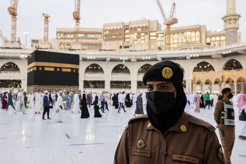 FILE PHOTO: Annual Haj pilgrimage to the holy city of Mecca