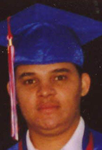 Larry Ely Murillo-Moncada was reported missing in 2009.