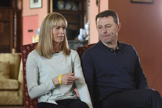 Kate and Gerry McCann have always vowed to do 'whatever it takes for as long as it takes' to find their daughter. (AP)