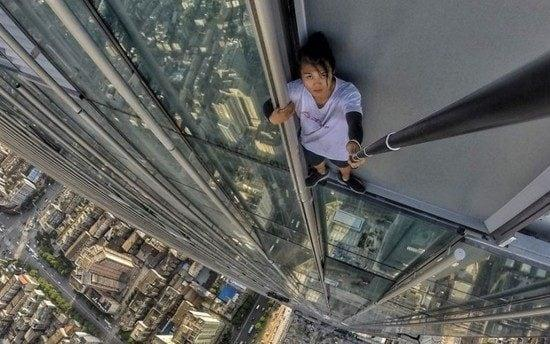 Wu Yongning was known for scaling tall buildings - Wu Yongning/Weibo
