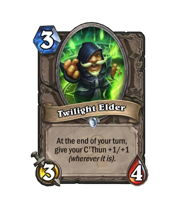<p>+1/+1 may not seem like a lot at first, but ignoring this little dude is going to let C'Thun get very out of hand, very fast.</p>