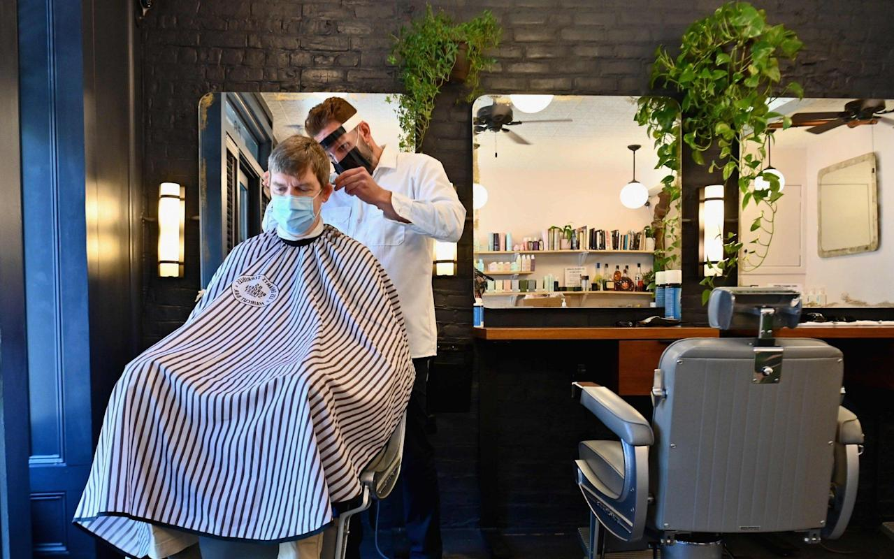 How a leading barber is preparing for reopening from July 4