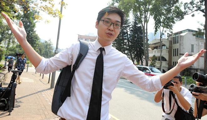 Pupils had been shown a documentary in which activist Andy Chan appeared. Photo: Dickson Lee