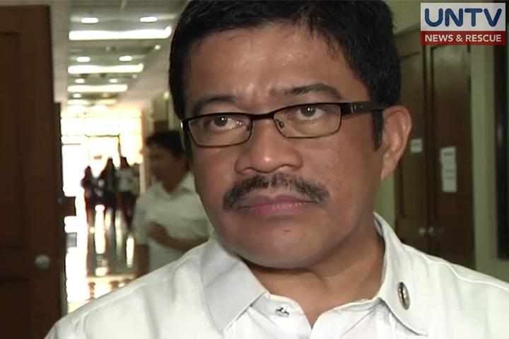 FILE PHOTO: Bayan Muna Representative Carlos Zarate