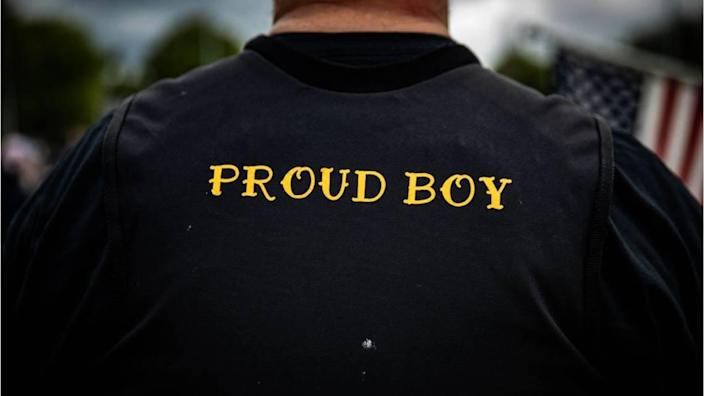 The white-supremacist group Proud Boys got a shout-out from President Trump from the debate stage.