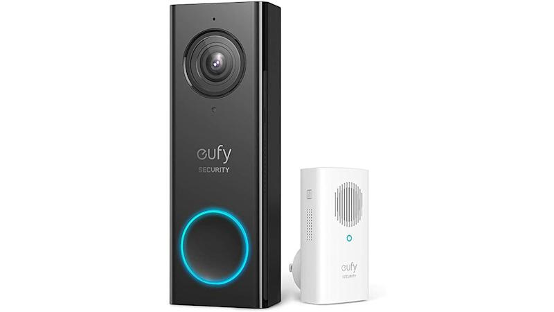 Keep your home safe with this eufy smart doorbell.