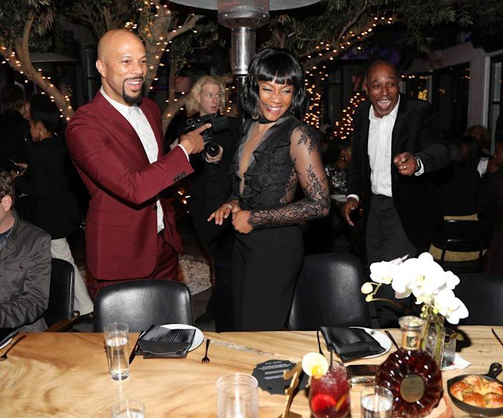 Common and Tiffany Haddish attend Toast To The Arts Presented by Remy Martin on March 2, 2018 in West Hollywood, California. (Photo by Jerritt Clark/Getty Images for Remy Martin)