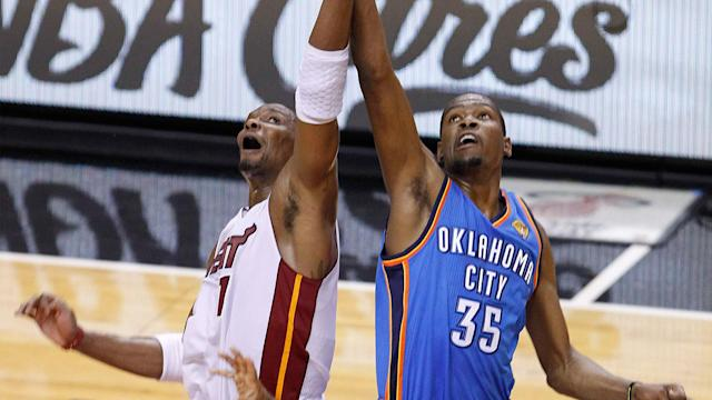 If LeBron James, Dwyane Wade and Chris Bosh never team up in Miami, does Kevin Durant ever leave OKC?