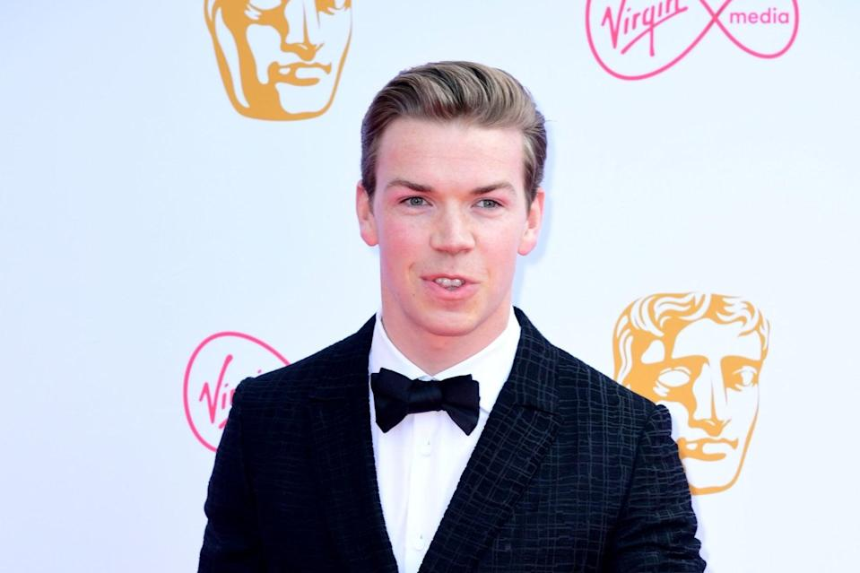 BAFTA rising star winner Will Poulter , 27, appears in one of six new films released today as part of the national campaign from the charity S.T.O.R.M.(Ian West/PA Wire)
