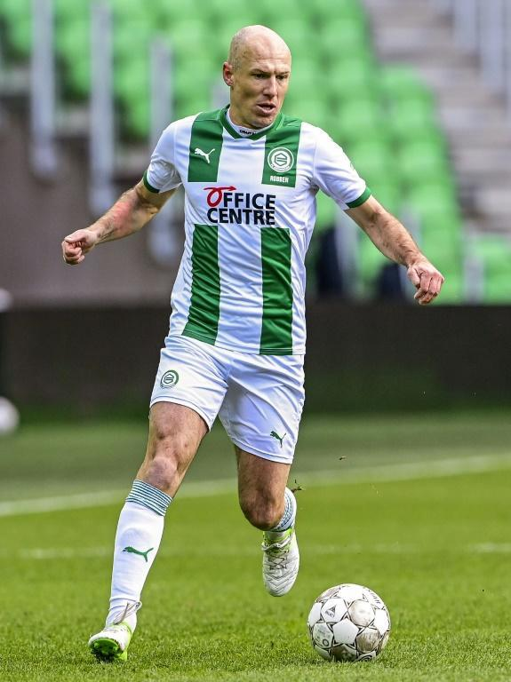 Arjen Robben made his comeback for Groningen in the Dutch Eredivisie after six months out injured