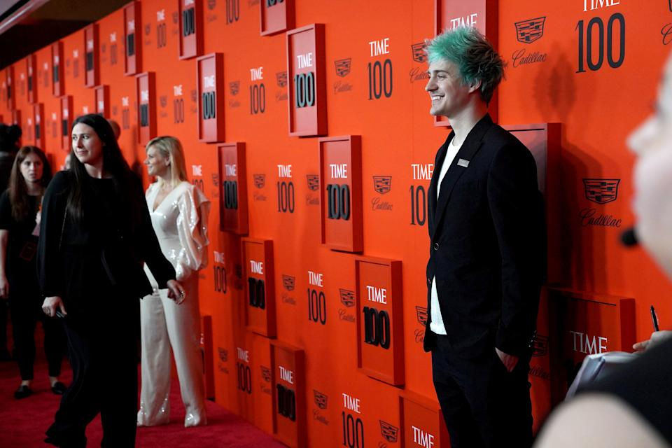 """Tyler """"Ninja"""" Blevins attends the Time 100 Gala 2019 at Jazz at Lincoln Center on April 23, 2019 in New York City."""