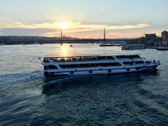 Cruise on Bosphorus
