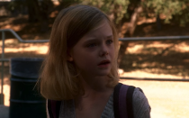 <p>The team is called in and saves a young Elle Fanning not once, but twice during season two. The first involves a visit from the BAU to the small town where Elle's character Tracy Belle lives after her classmates' bodies are found in the woods. The kids (and the team) suspect the local bogeyman, but the actual killer is much more sinister (more on that in a second). </p>