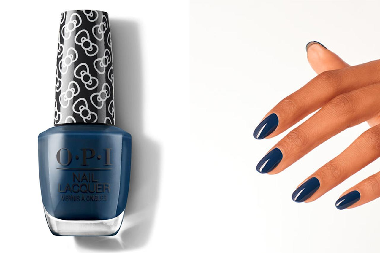 """<p>Have yourself a blue Christmas with this classic indigo navy number. It's the moodiest color in the collection. </p> <p><b>BUY IT: </b><strong>$10.50; <a href=""""https://www.amazon.com/OPI-Polish-Collection-Lacquer-Friends/dp/B07THF765Z/ref=as_li_ss_tl?ie=UTF8&linkCode=ll1&tag=slholopinewholidaycollectionkyoct19-20&linkId=f9a5f8f2e4838d843cc8ce6cacdbc195&language=en_US"""" target=""""_blank"""">amazon.com</a></strong></p>"""