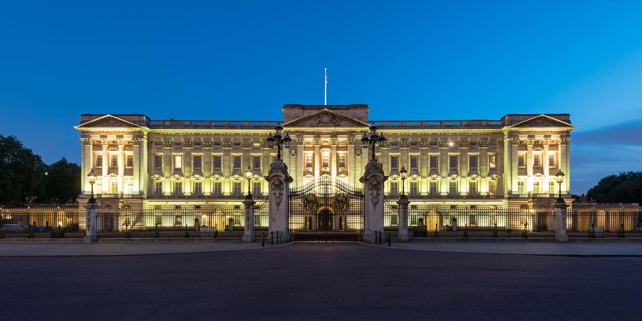 "<p>The most well-known and visited of all <a href=""https://www.veranda.com/luxury-lifestyle/g1449/royal-homes-around-the-world/"" target=""_blank"">the royal properties,</a> Buckingham Palace has remained the official London residence of the United Kingdom's monarchs since 1837. The palace has a total of 775 rooms, including 188 staff bedrooms, 92 offices, 78 bathrooms, 52 royal and guest bedrooms, and 19 state rooms. The palace acts as the working residence of <a href=""https://www.veranda.com/home-decorators/a21989049/queen-elizabeth-fashion-bright-colors/"" target=""_blank"">the Queen</a> and Prince Philip, Duke of Edinburgh, during the week when they are based in London.</p>"