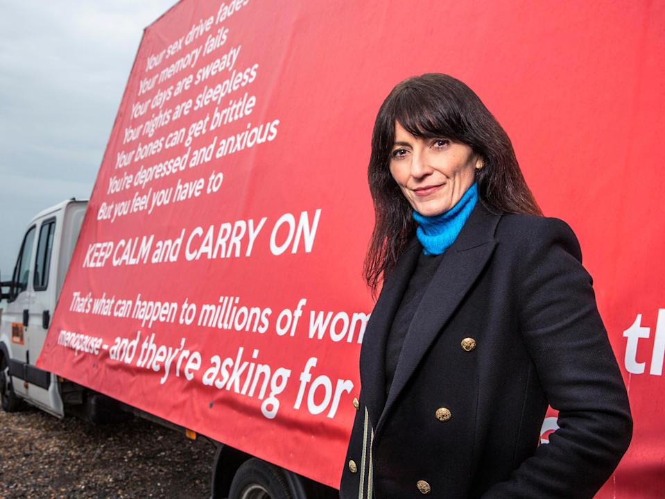 Davina McCall's documentary aired on Wednesday night (Channel 4)
