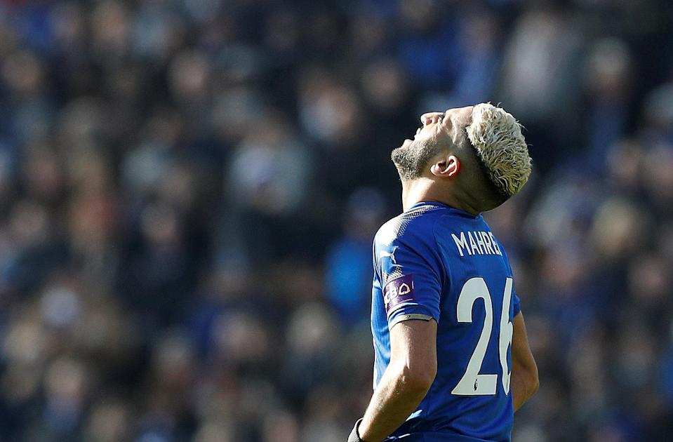Riyad Mahrez was backed heavily to return in Gameweek 28 but the Foxes' winger could not get past Jack Butland.