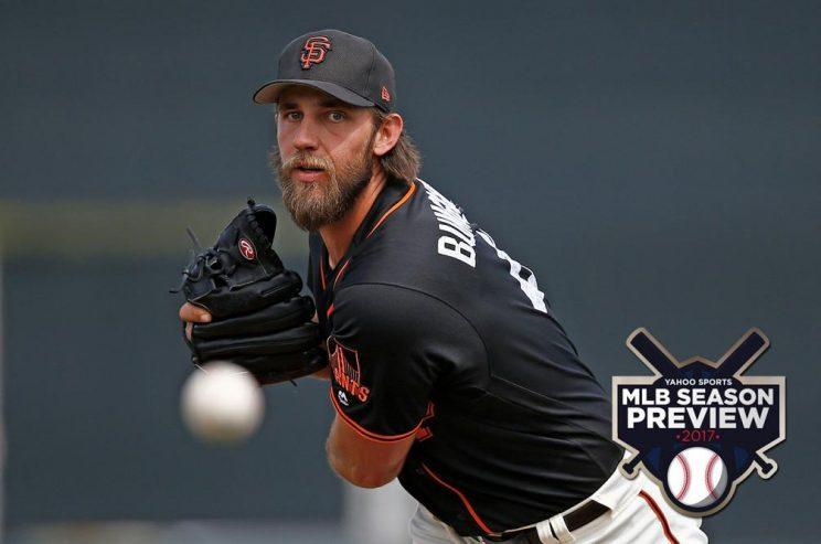 Will Madison Bumgarner and the Giants have enough to win another championship? (AP)