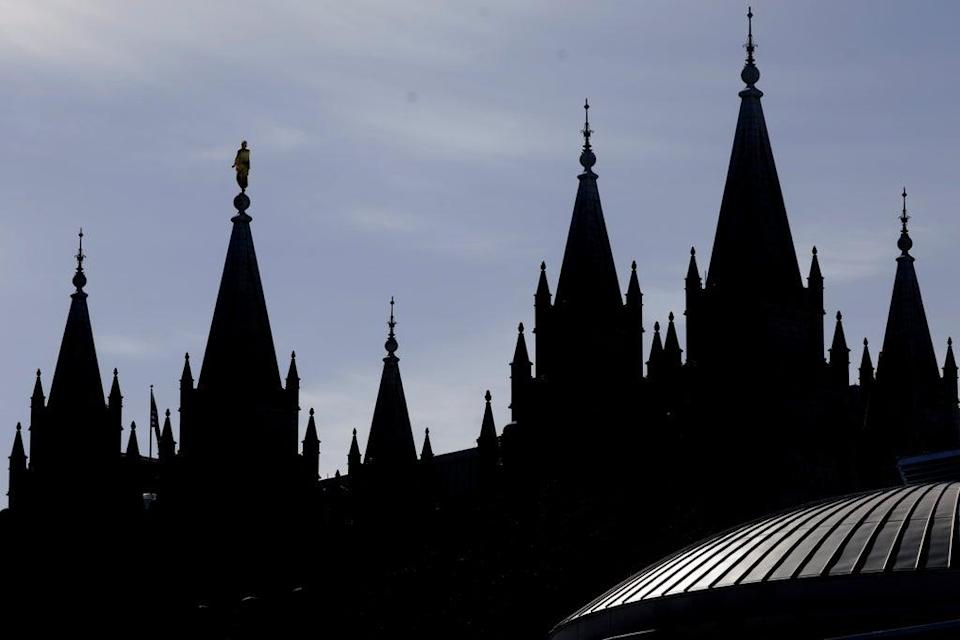Mormons COVID (Copyright 2020 The Associated Press. All rights reserved.)