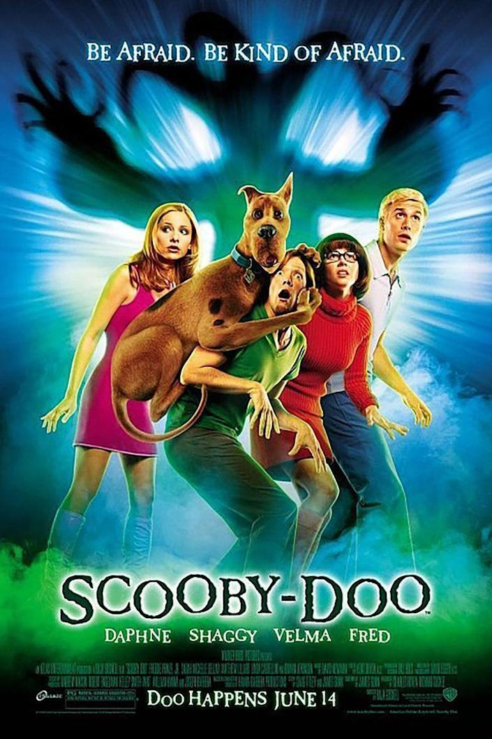 """<p><a class=""""link rapid-noclick-resp"""" href=""""https://www.amazon.com/Scooby-Doo-Movie-Jr-Freddie-Prinze/dp/B003EYDU60/?tag=syn-yahoo-20&ascsubtag=%5Bartid%7C10070.g.3104%5Bsrc%7Cyahoo-us"""" rel=""""nofollow noopener"""" target=""""_blank"""" data-ylk=""""slk:STREAM ON AMAZON"""">STREAM ON AMAZON</a></p><p>This live-action version of everyone's favorite mystery-solving crew takes place on Spooky Island, where a magical force threatens to put a spell over everyone on Earth. Zoinks! </p>"""