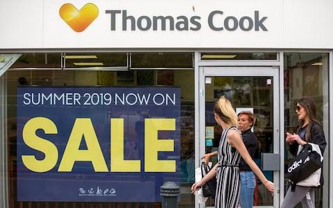 Thomas Cook - Credit: Chris Ratcliffe/Bloomberg