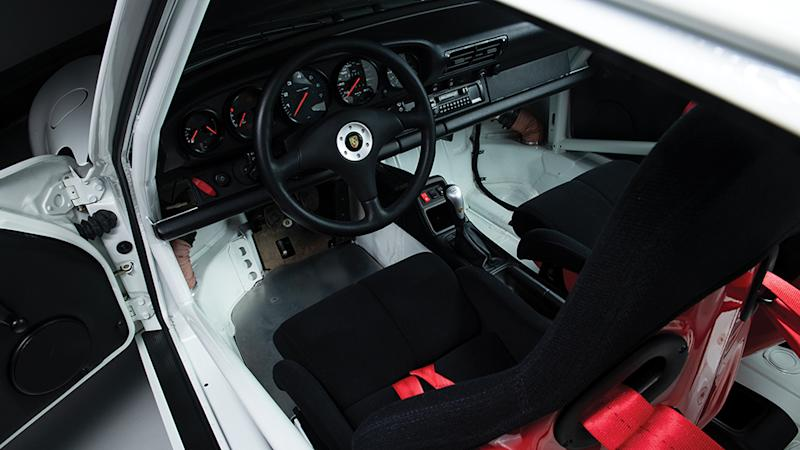 The 1996 911 Carrera RS Clubsport Coupé