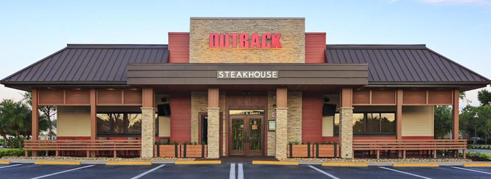 An Outback Steakhouse restaurant.