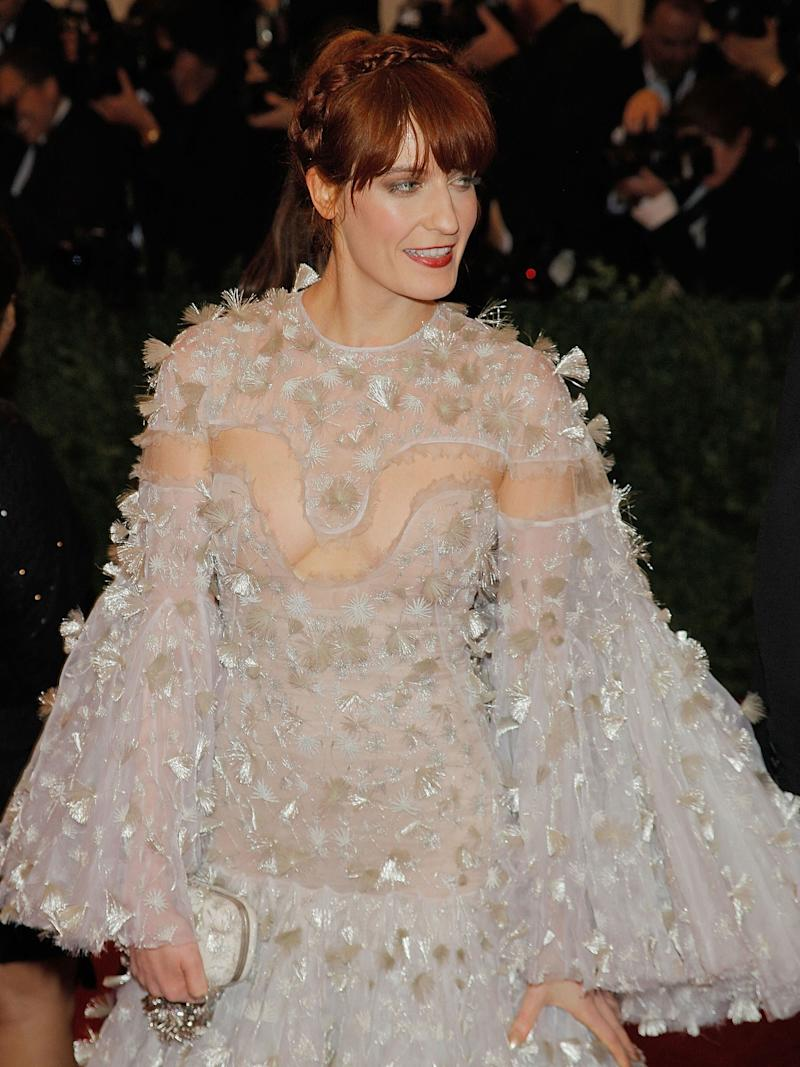 """Florence Welch, 2012, """"Schiaparelli and Prada: Impossible Conversations"""""""