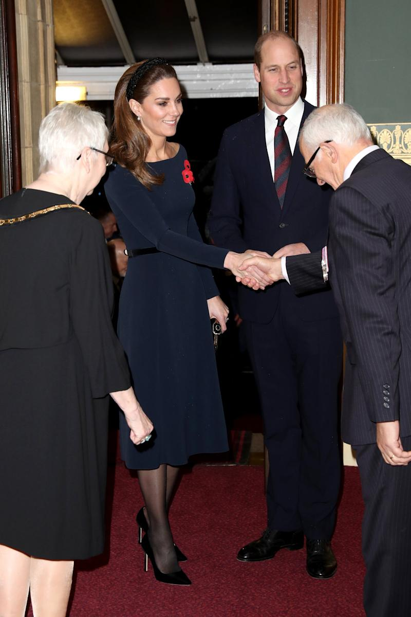 The Duke and Duchess of Cambridge at the event (- WPA Pool/Getty Images)