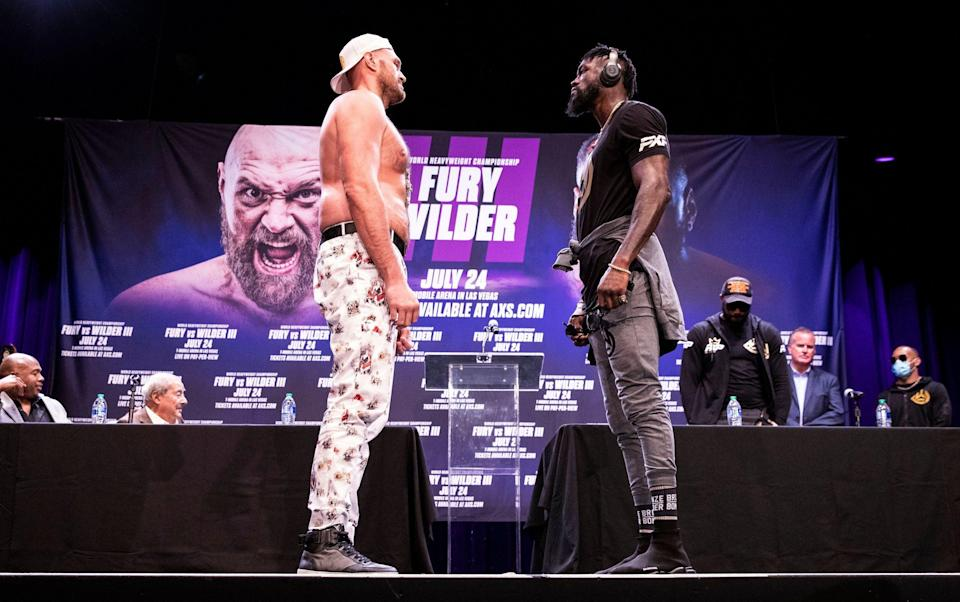 Tyson Fury vs Deontay Wilder 3: The full undercard, plus what time the action starts - SHUTTERSTOCK