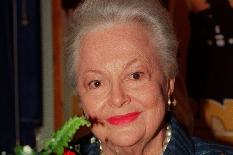 Dame Olivia de Havilland has died aged 104: PA