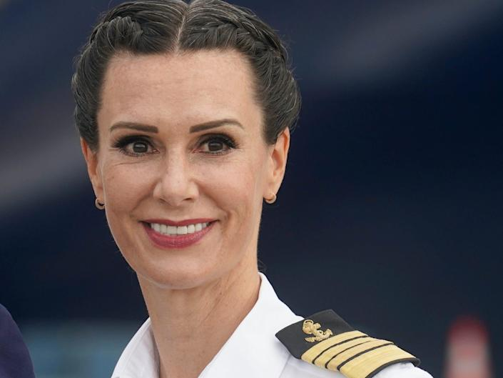 a picture of Captain Kate McCue