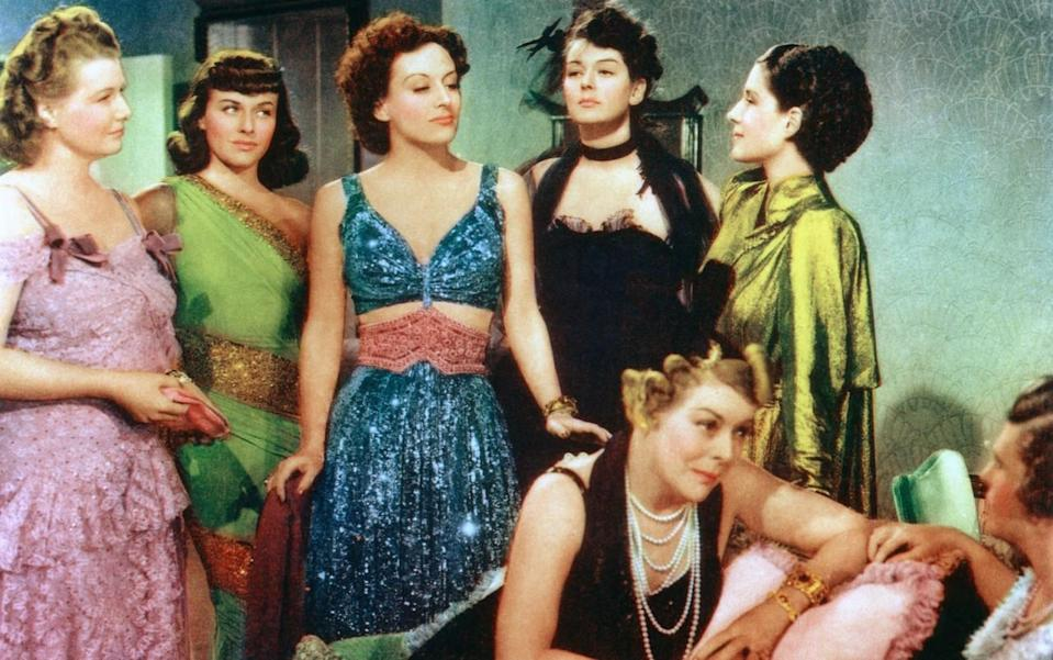 <p>This groundbreaking film, starring A-list actresses like Joan Crawford and Norma Shearer, was based on Clare Boothe Luce's play of the same name. Both film and play included more than 130 speaking roles — and all of them are women. While men and their relationships to women are talked about in the film, not a single man appears onscreen. Even the pets are female. <i>(Source: Everett Collection)</i></p>