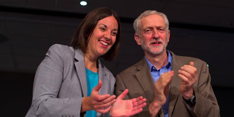 Corbyn and Dugdale