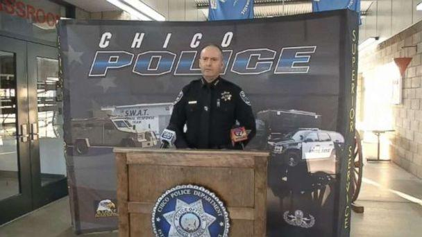 PHOTO: Chico Police Chief Mike O'Brien provides an update on the mass fentanyl overdose in Chico, Calif., on Saturday, Jan. 12, 2019. One person died and 12 others were hospitalized. (KRCR)