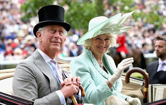 Camilla with her husband Prince Charles. Source: Getty