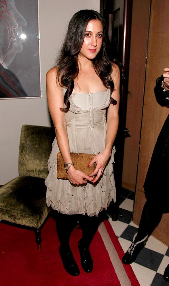 "Musician Vanessa Carlton (""A Thousand Miles"") channels Wednesday Adams in this depressing outfit. Perhaps a smile and a splash of D&G's new scent would help? Jemal Countess/<a href=""http://www.wireimage.com"" target=""new"">WireImage.com</a> - December 4, 2007"