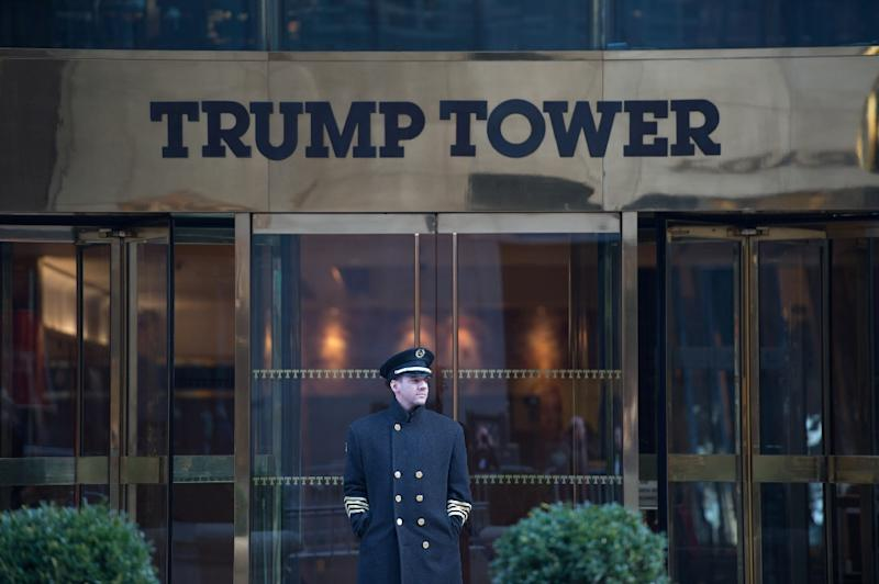 US President Donald Trump has accused the Obama administration of wiretapping his New York residence before his November 2016 election victory (AFP Photo/Bryan R. Smith)