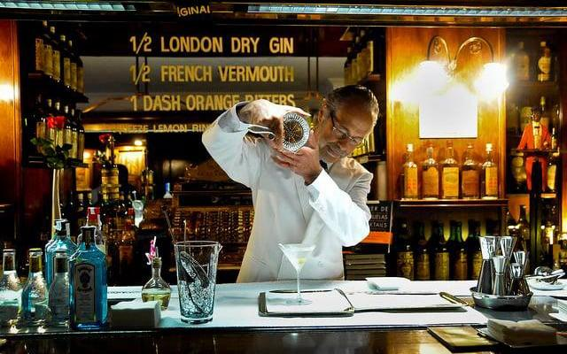 There are some truly great cocktail bars in Barcelona, but Dry Martini is top of the heap