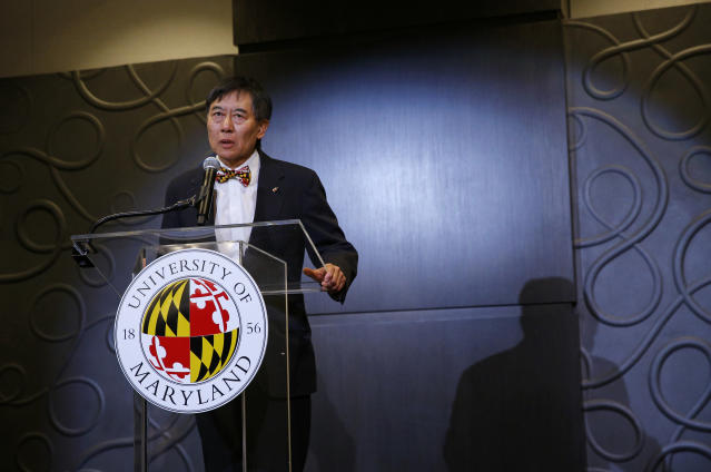 University of Maryland-College Park president Wallace Loh is no longer in control of his investigations into Jordan McNair's death. (AP Photo)