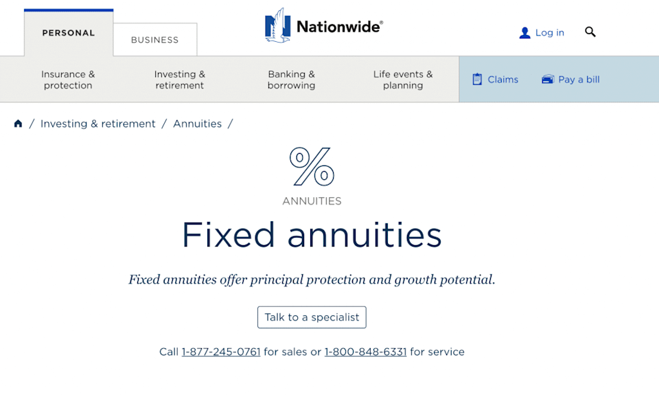 Nationwide Fixed Annuities
