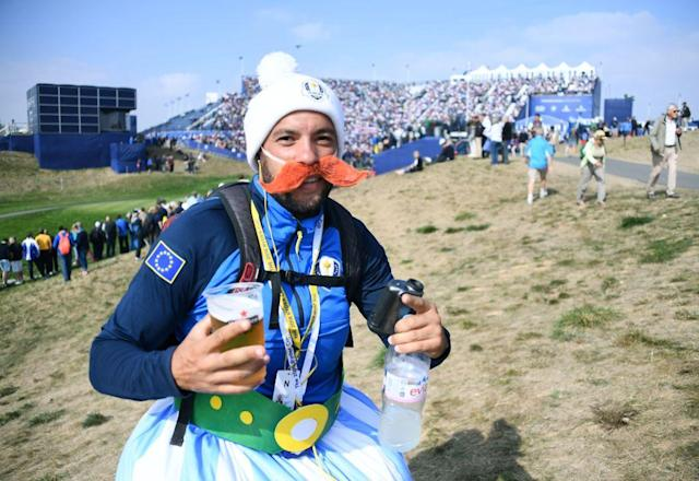 The Ryder Cup is a grave and serious event. (Getty)