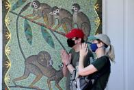 FILE PHOTO: London Zoo on the first day of its reopening since lockdown restrictions ease, during the spread of the coronavirus (COVID-19) disease in London